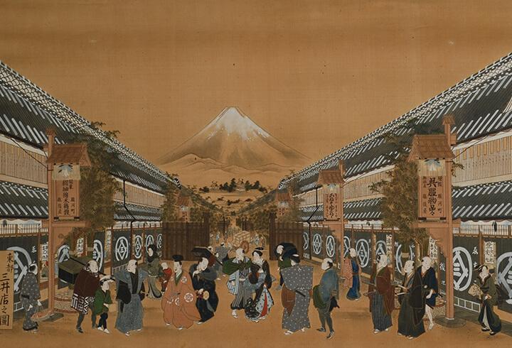松阪商人の江戸進出と商人文化